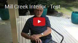 Mill Creek Interior Testimonial