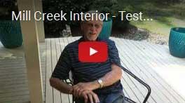 Mill Creek Interior Testimonial