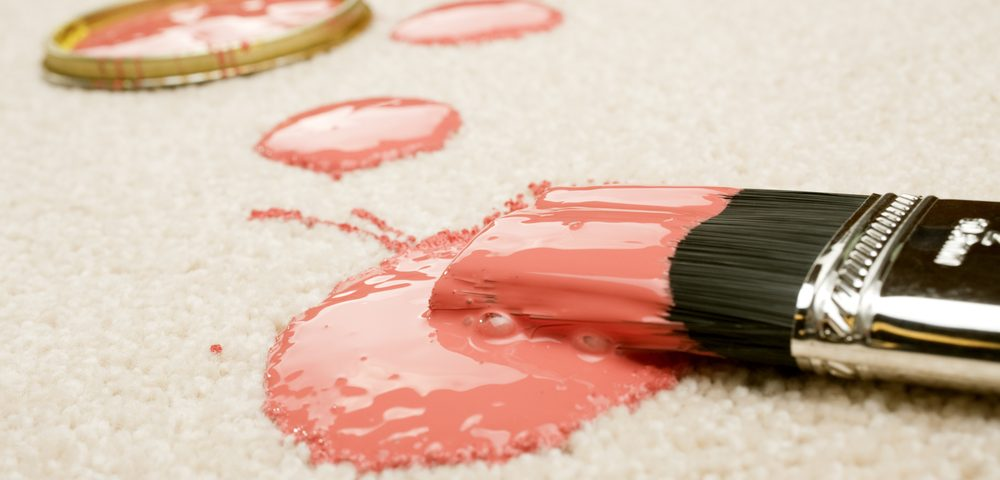 How to Clean Paint off Your Carpet